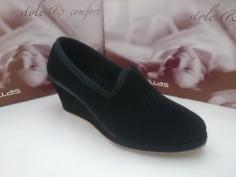 Zapatilla Doctor Cutillas Invierno Mod 98117 Negro
