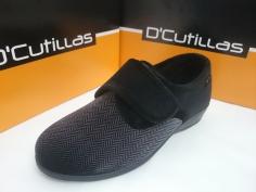 Zapatilla Doctor Cutillas Invierno Mod 765 Negro