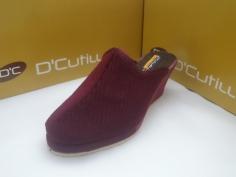 Zapatilla Doctor Cutillas Invierno Mod 98143 Burdeos