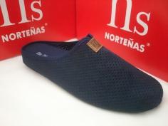 Zapatilla Caballero Norteñas Mod 13-129 Marino