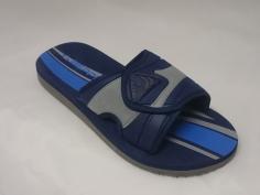 Chancla Beppi Mod Velcro Azul