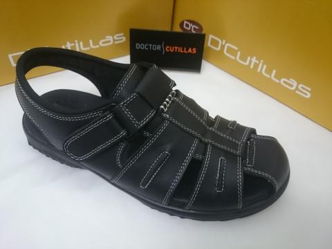 Cutillas Negro Sandalia Doctor Verano 70103 Mod v8n0ONmw