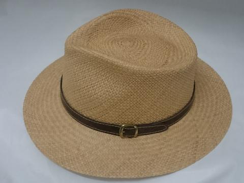 Sombrero Panama Tostado