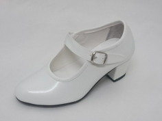 Zapato Flamenco Gitana Blanco