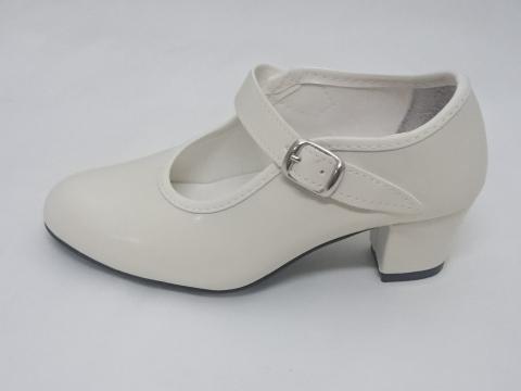 Zapato Flamenco Beig