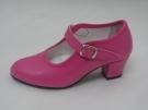 Zapato Flamenco Fuxia