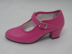 Zapato Flamenco Gitana Fuxia
