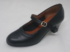 Zapato Flamenco Profesional Negro