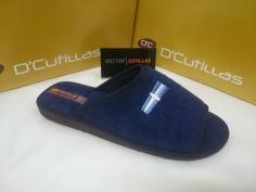 Zapatilla Doctor Cutillas Mod 12253 Marino