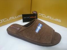 Zapatilla Doctor Cutillas Mod 12253 Marrón