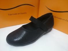 Zapatilla Doctor Cutillas Invierno Mod 3653 Negro