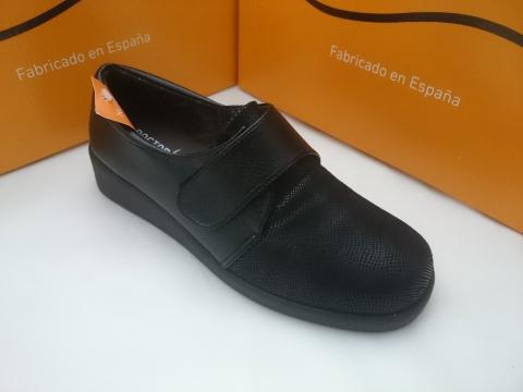 Zapato Doctor Cutillas Invierno Mod 57420 Negro