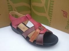 Zapato Doctor Cutillas Verano Mod 33854 Combi Rojo