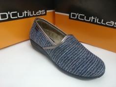 Zapatilla Doctor Cutillas Invierno Mod 3561 Marino