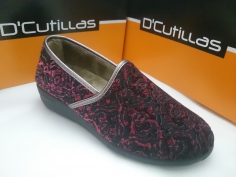 Zapatilla Doctor Cutillas Invierno Mod 3571 Vino