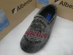 Zapatilla Alberola Invierno Mod L5829 Negro