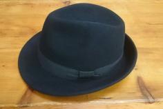 Sombrero Paño Tirole Negro