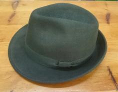 Sombrero Paño Tirole verde