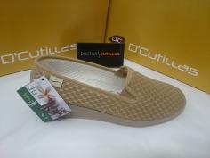 Zapatillas Señora Doctor Cutillas Mod 9223 Tostado