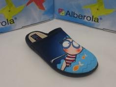 Zapatilla Alberola Mod A13813 Azul