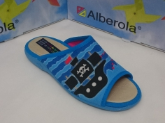 Zapatilla Alberola Mod Z10851 Turquesa