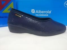 Zapatilla Alberola Mod S 13806 Azul